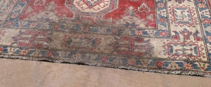 fire damage carpet