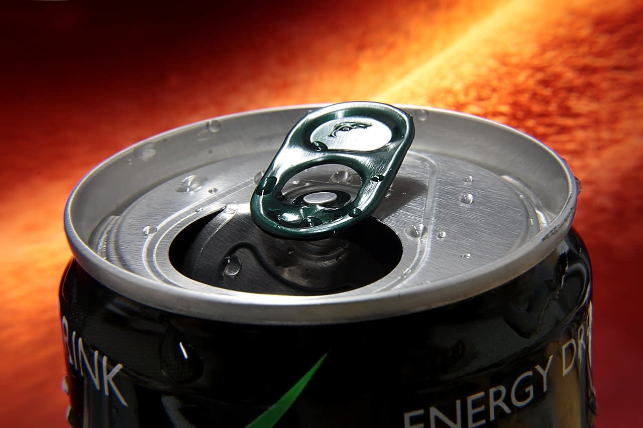 energy drink stain
